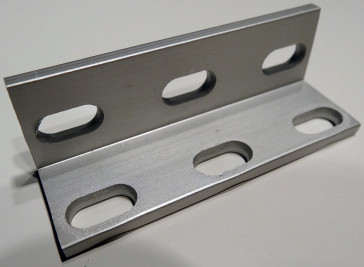 OpenBuilds Universal L Brackets (Triple) - Natural Anodized