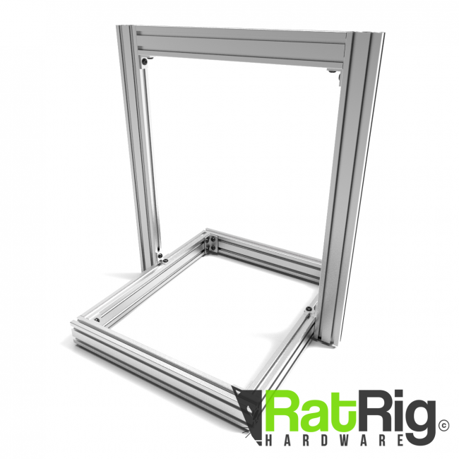 AM8 3D Printer Extrusion Profile Metal Frame - Full Kit for Anet A8 ...