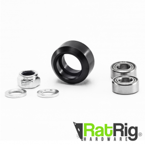 Delrin Mini V Wheel Kit