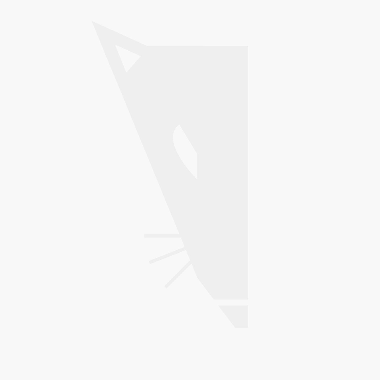 Hypercube 3D Printer Extrusion Metal Frame & Hardware Kit (All Black)