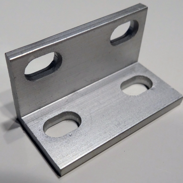 OpenBuilds Universal L Brackets (Double) - Natural Anodized