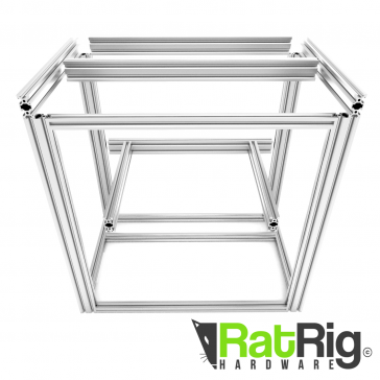 D-BOT 300x300 3D Printer Aluminium Rail Bundle (Natural)