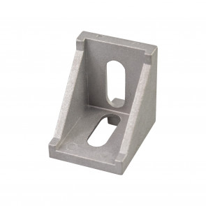 Cast 90 Degree Corner Bracket for 4040 - 8 Slot - Natural