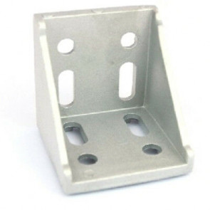 Cast 90 Degree Corner Bracket for 4040/4080 - Double (80*80mm)